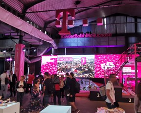 Hrvatski Telekom demonstrates 5G network at the opening ceremony of Weekend Media Festival